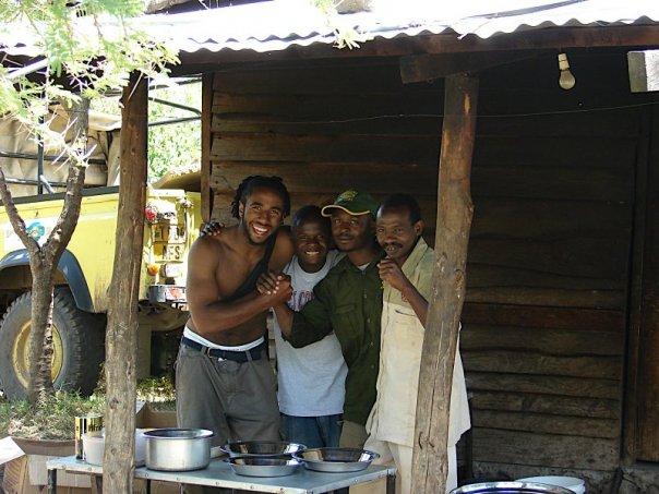 Tony Zanders in Tanzania