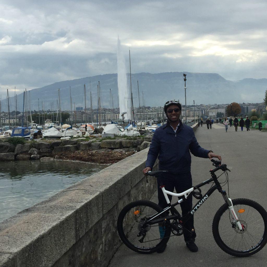 Tony Zanders in Switzerland